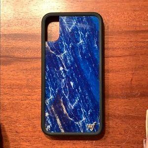 iPhone XS wildflower phone case